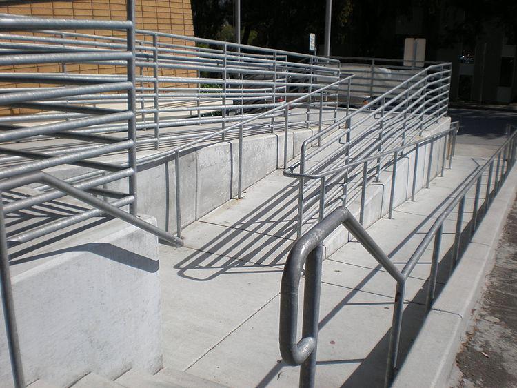Aluminum Folding Ramps >> Barrier Jumps Galleries: Barrier Free Ramps