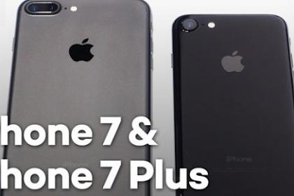 Spesifikasi iPhone 7 dan 7 Plus yang Aduhai
