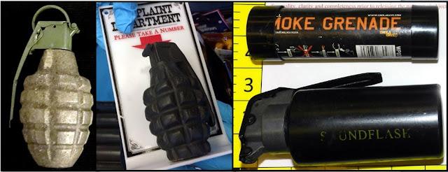 Inert/Replica Grenades