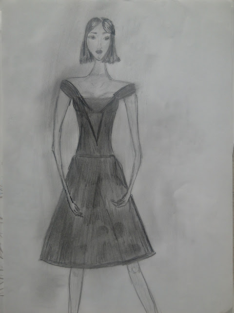 #pencildrawing #moda #fashionillustration #drawing #art