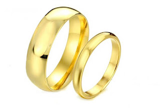 Wedding Plain Ring for Men Women