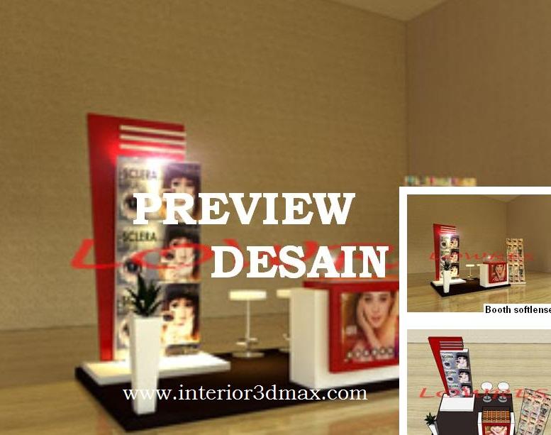 Contoh Hasil Jasa Design Interior Booth Softlense Bazzar Di Mall Yang Unik Dan Modern Kami Sudah Terbiasa Membuat Desain Segala