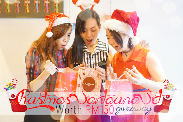 Christmas Santarina Set Giveaway #SMJxChristmas WORTH RM150