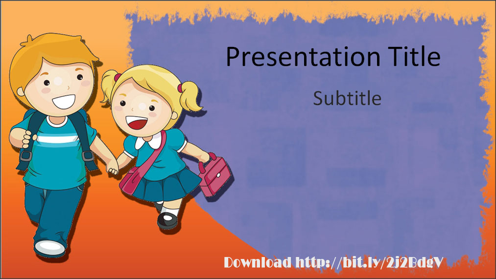 download elementary education powerpoint template with back to, Powerpoint templates