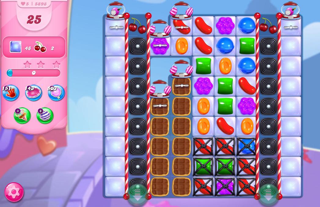Candy Crush Saga level 5898