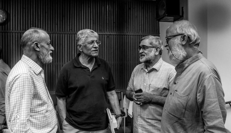 Satish_jacob_Prof_gaur_raza_kuldeep_kumar_Sohail_Hashmi_Saga_of_Karbala_Ocean_of_Melancholy_niyogi_books_excerpts_Bharat_S_Tiwari_Photography