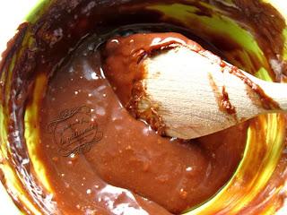 Ganache chocolat au lait praliné