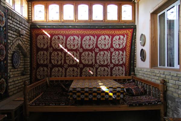 Ouzbékistan, Richtan, musée Ousmanov, céramique, tapshan, tapchane, © L. Gigout, 2012