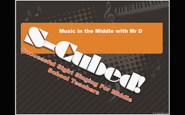 Image result for S-Cubed: Successful Sight Singing for Middle School Choir curriculum