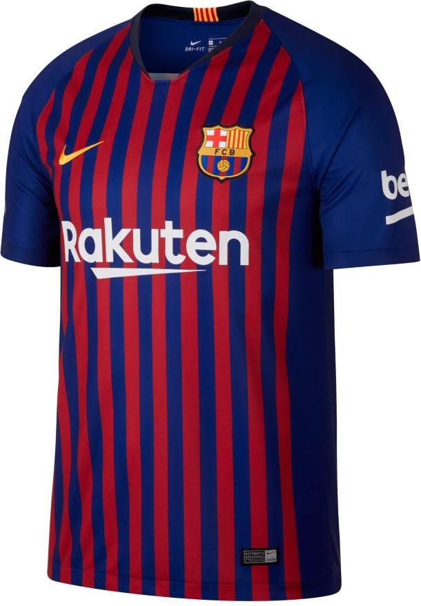 b105f711d22e6 Nike lança a nova camisa titular do Barcelona - Show de Camisas