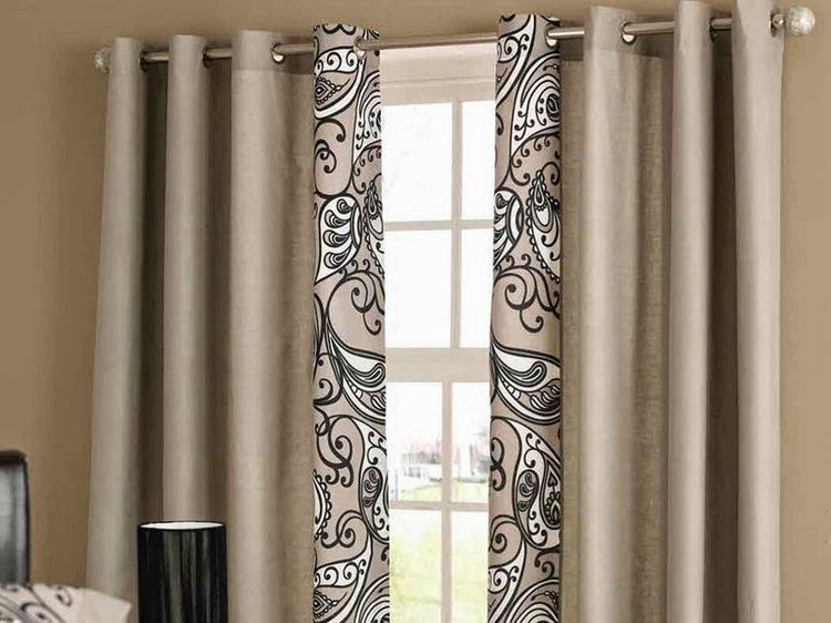 How to choose curtains for living room, style, fabrics and ...
