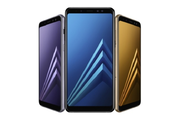SAMSUNG Galaxy A8 (2018) and Galaxy A8+ (2018) with Dual Front Camera and Infinity Display announced