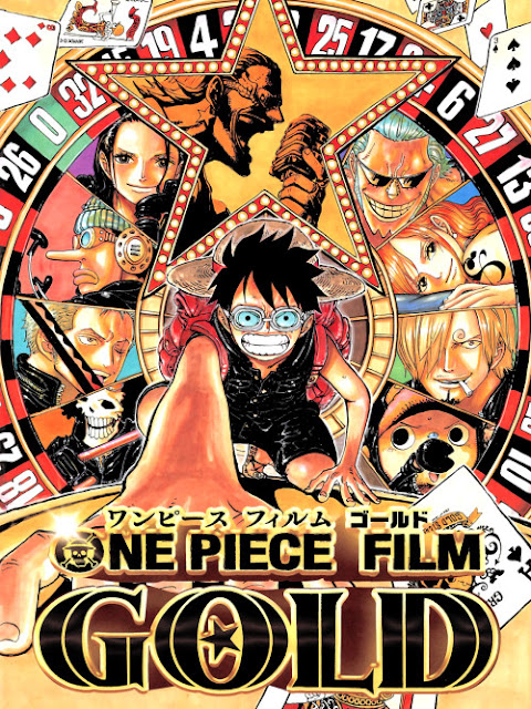Poster One Piece Gold Anime Movie
