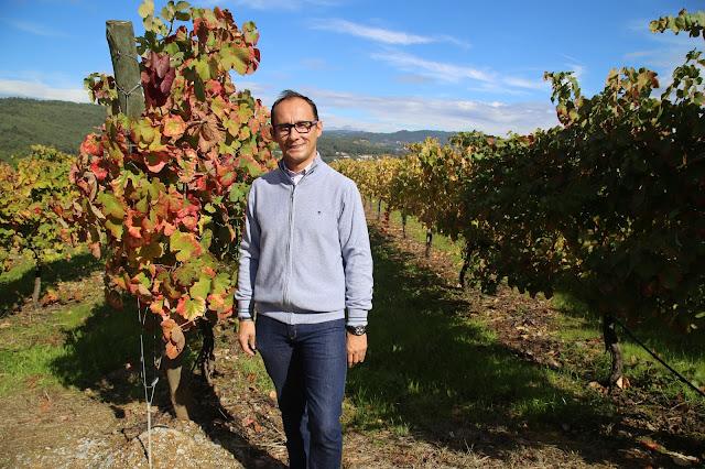 Carlos Teixera, winemaker at Quinta da lixa, vinho verde, portugal