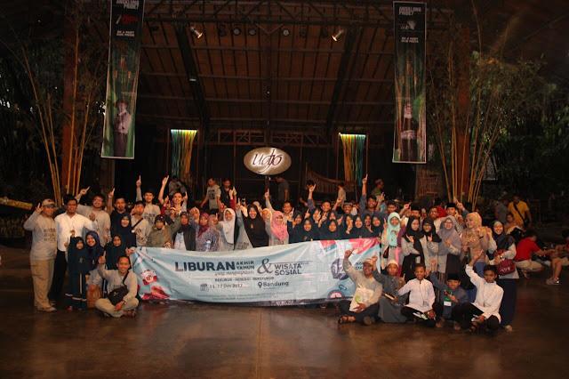 IZI Selenggarakan Wisata Sosial bersama Donatur dan Kaum Dhuafa