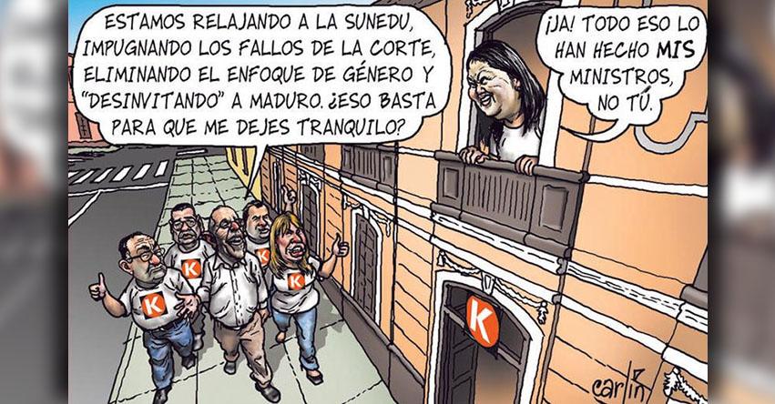 Carlincaturas Sábado 24 Febrero 2018 - La República