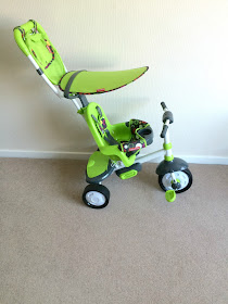 fisher price Charisma 3-in-1 green trike review
