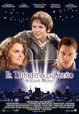 pelicula El Triunfo de un Sueño (August Rush) (2007)
