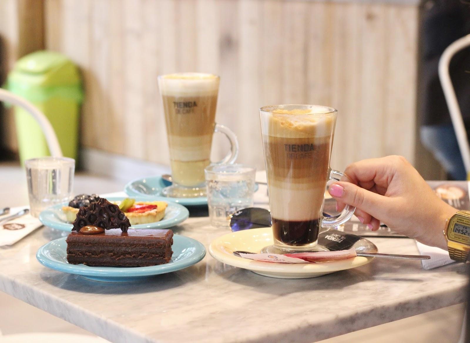 Tienda de Cafe tortas