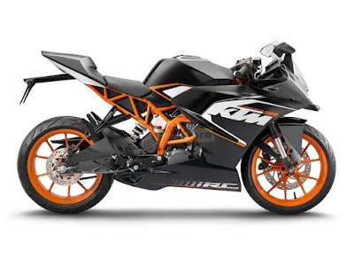 KTM RC 200 right side image