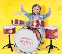 Logo Gioca e vinci la Batteria Rock per i tuoi bambini