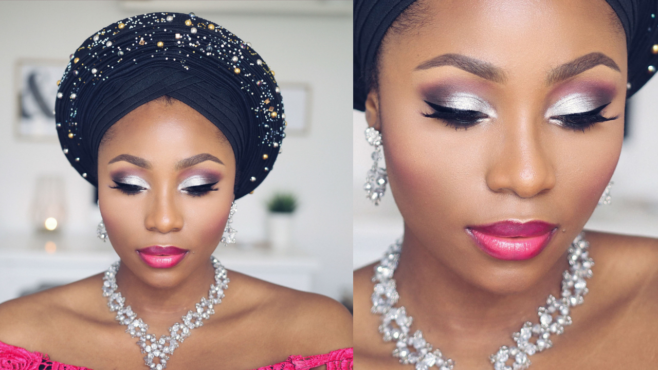 nigerian bridal makeup tutorial | dimma umeh | nigerian beauty