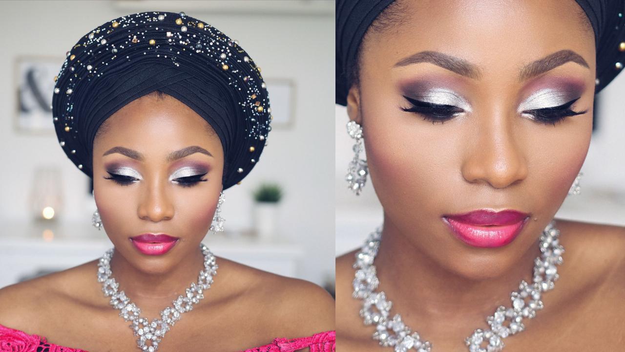 nigerian bridal makeup tutorial | dimma umeh | nigerian
