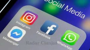 sosial media down