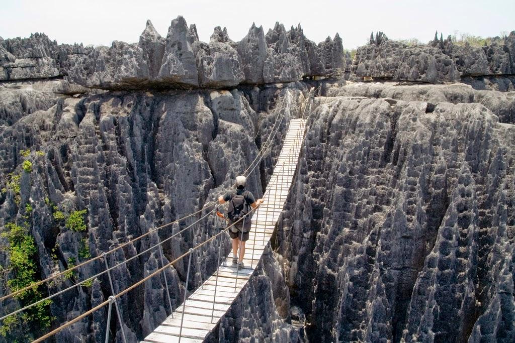 Resultado de imagen para 18. Parque nacional Tsingy de Bemaraha, Madagascar
