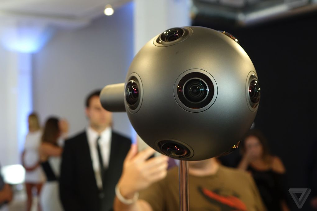 virtual reality/ozo by nokia