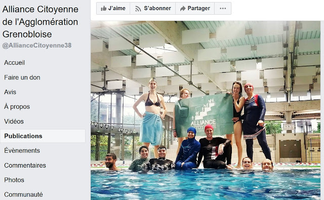 Burkini à la piscine municipale de Grenoble : la mairie sous pression d'intégristes musulmanes, fruit de l'histoire de l'islamisme sur l'agglomération