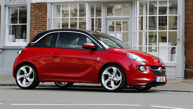 Vauxhall Adam side