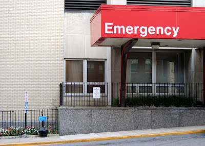 Watch your blood pressure at home, but if you need to...head to the doctor or Emergency Room