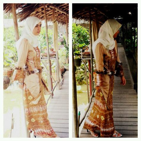 Model Sasirangan Baju Khas Wanita Banjar Fashion Terkini