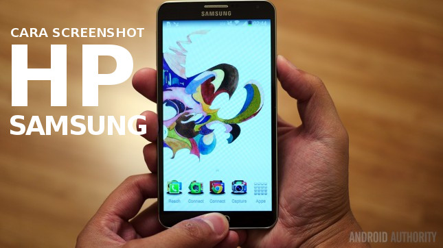 Screenshot smartphone samsung s3