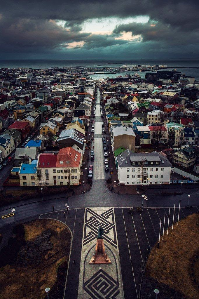 Reykjavik, Iceland 10 Most Beautiful Island Countries in the World
