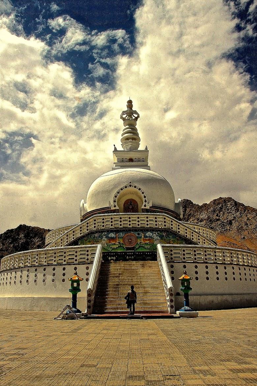 10 Best Backpacking Destinations in India | Shanti Stupa, Leh Ladakh