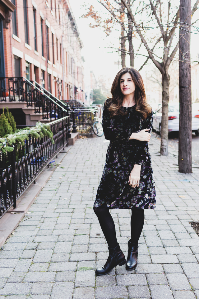 rebecca taylor velvet dress