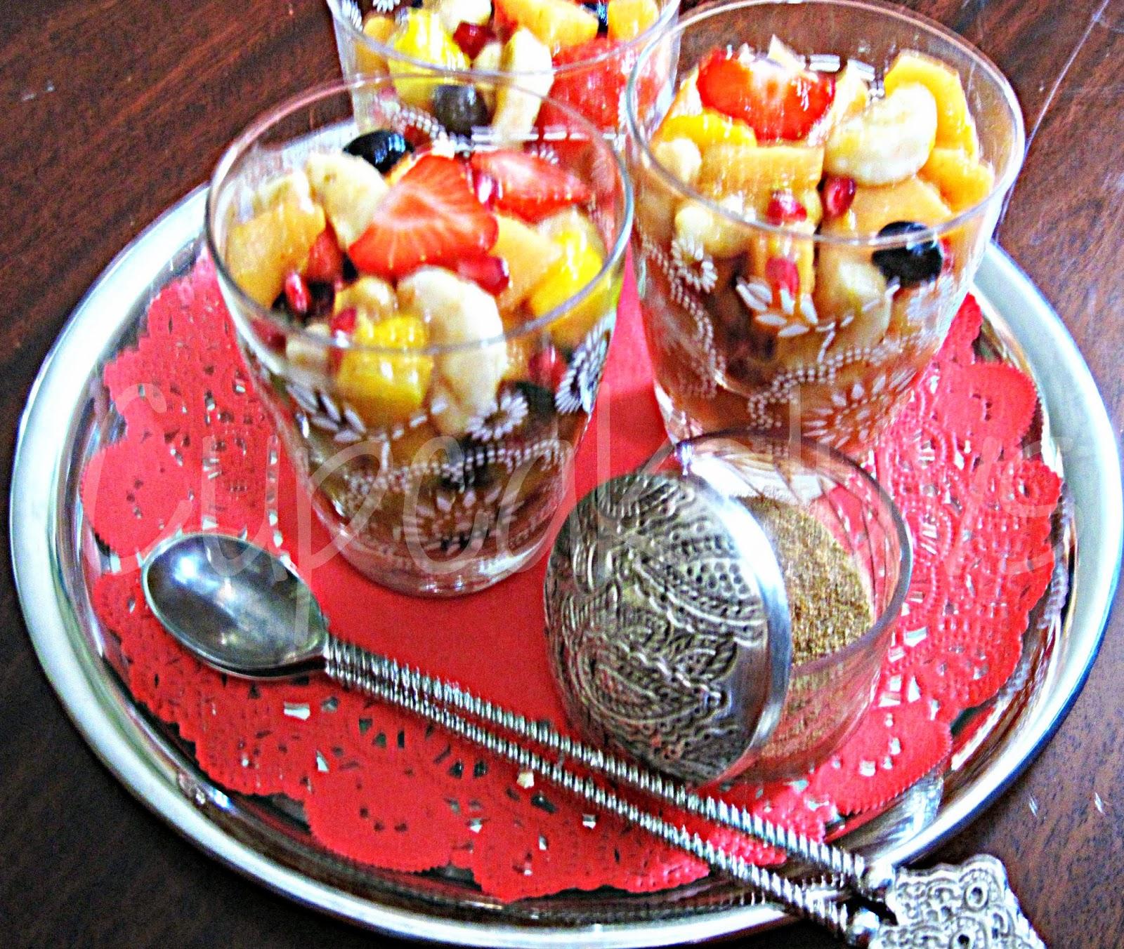 Cupcakeluv: Fruit Chaat