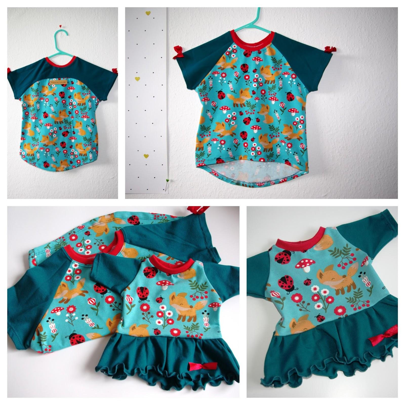 Collage Bethioua Mini von Ellepuls - Nähblog Kinder Shirt selber nähen Freebook