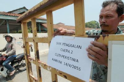 Diserang Pocong, 50 Murid Termasuk Cikgu Histeria