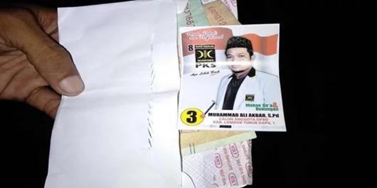 Caleg PKS di Lombok Timur Terjaring OTT Politik Uang
