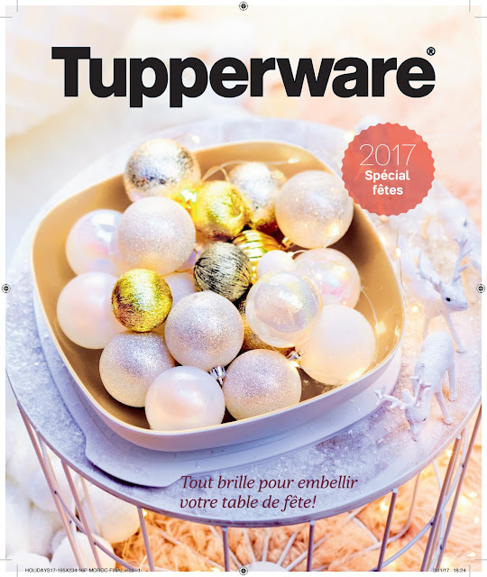 catalogue tupperware novembre decembre 2017
