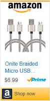 Cable micro-USB trenzado marca Onite