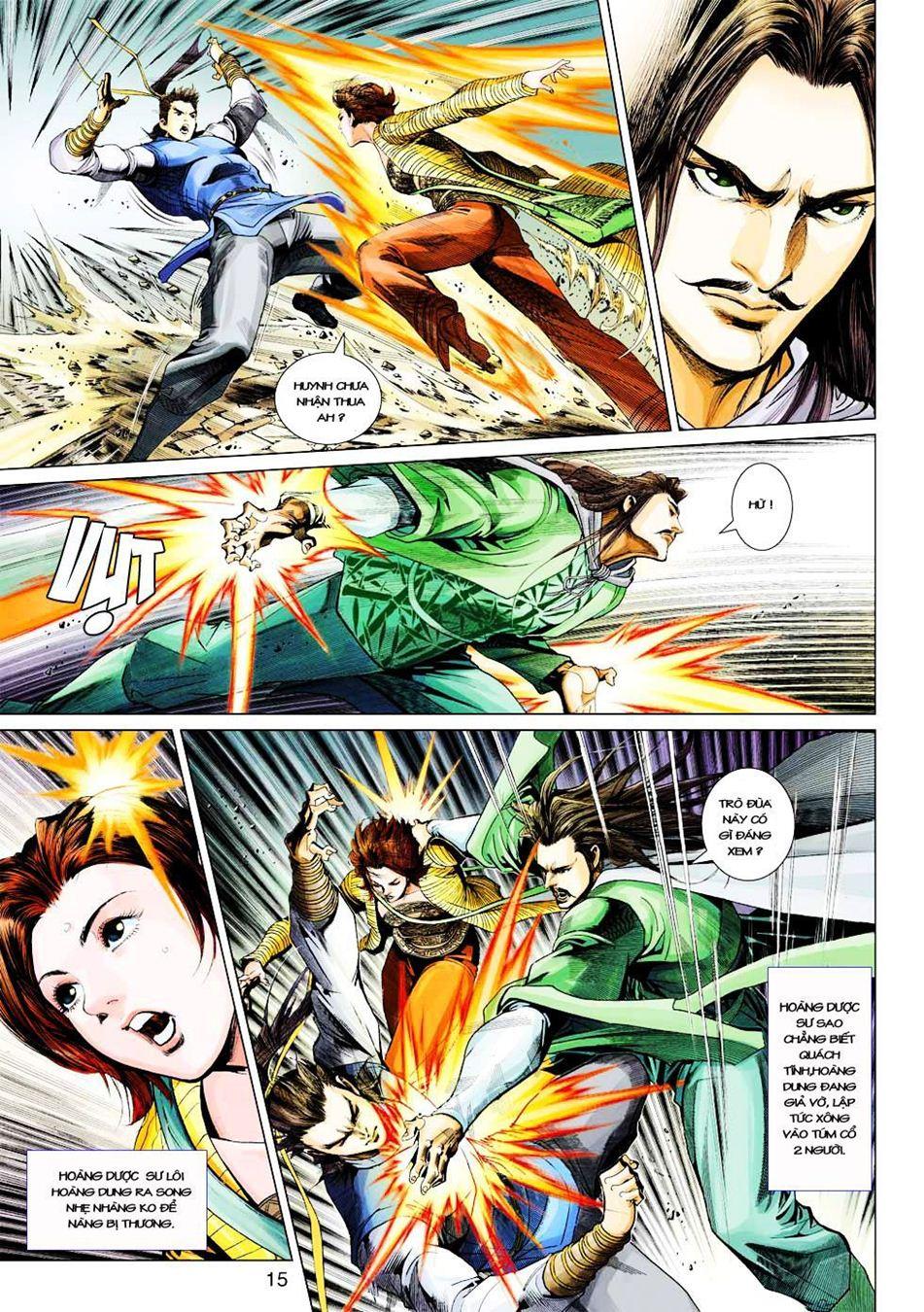 Anh Hùng Xạ Điêu anh hùng xạ đêu chap 33 trang 15