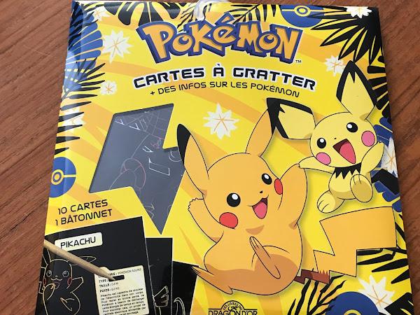 Cartes à gratter Pokemon