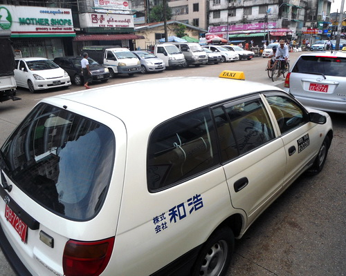 Tinuku Uber open war Hello Cabs, Oway Ride and Grab for cash in Myanmar