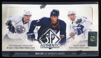 2010-11 SP Authentic Box Break #2