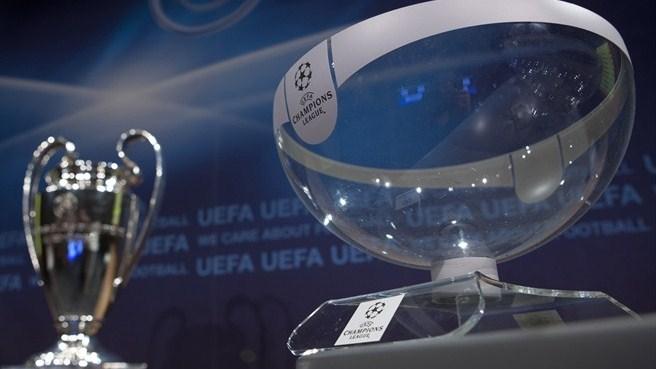 Os Potes para o Sorteio das Oitavas da Champions League
