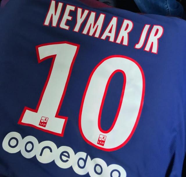 Neymar el nuevo 10 del PSG